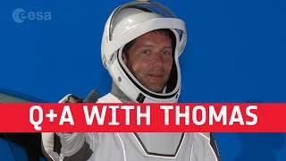 EUROPESE OMROEP | OPENN  | Pre-launch media Q+A with astronaut Thomas Pesquet [in English and French]