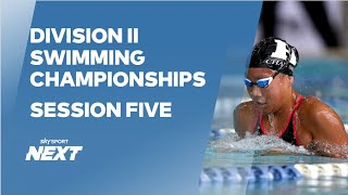 EUROPESE OMROEP | OPENN  | Session Five | Division II Championships | Swimming