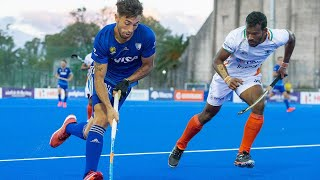 EUROPESE OMROEP | OPENN  | Argentina v India | Match 82 | Men's FIH Hockey Pro League Highlights