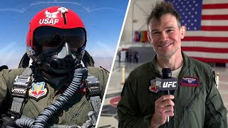 EUROPESE OMROEP | OPENN  | Forrest Griffin Flies With the Thunderbirds
