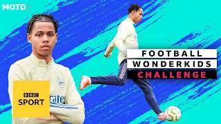 EUROPESE OMROEP | OPENN  | Arsenal wonderkid Amani Richards beats the keeper | MOTDx Wonderkids Challenge