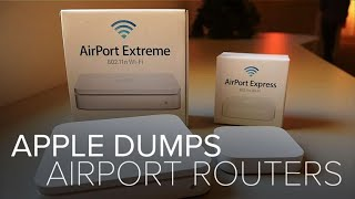 EUROPESE OMROEP | CNET | Apple dumps AirPort routers (CNET News) | 1524776836 2018-04-26T21:07:16+00:00