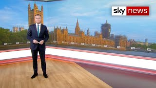 EUROPESE OMROEP OPENN Sky News Breakfast: PM prepares for ta