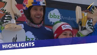EUROPESE OMROEP | FIS Snowboarding | Ochner and Fischnaller triumph in Winterberg PSL Team event | Highlights | 1521367623 2018-03-18T10:07:03+00:00