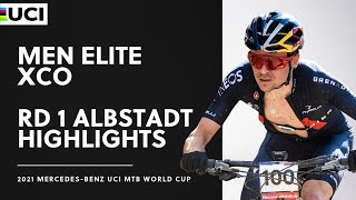 EUROPESE OMROEP | OPENN  | Round 1 - Men Elite XCO Albstadt Highlights | 2021 Mercedes-Benz UCI MTB World Cup