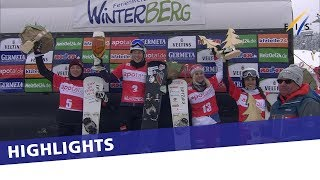 EUROPESE OMROEP | FIS Snowboarding | Bitter sweet win for Selina Joerg in season final PSL at Winterberg | Highlights | 1521288104 2018-03-17T12:01:44+00:00
