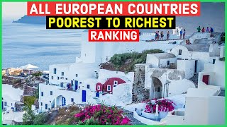 EUROPESE OMROEP OPENN All European Countries From Poorest To