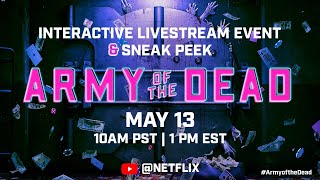 EUROPESE OMROEP | OPENN  | Unlock the First 15 Minutes Live | Army of the Dead
