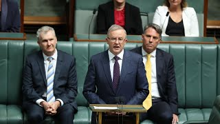 EUROPESE OMROEP | OPENN  | 'Australia deserves good government again': Albanese delivers budget reply