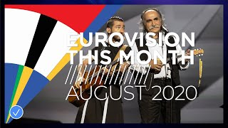 EUROPESE OMROEP OPENN Eurovision This Month: August 202