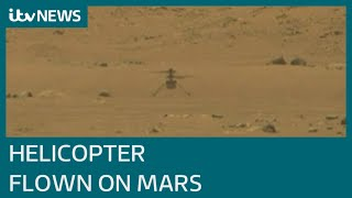 EUROPESE OMROEP OPENN Nasa launches first ever helicopter fl