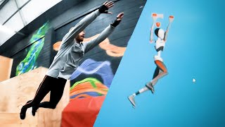 EUROPESE OMROEP | OPENN  | Motion capture for PARKOUR VIDEO GAME 🎮