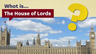 EUROPESE OMROEP | OPENN  | What is the House of Lords? (Secondary)