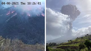 EUROPESE OMROEP OPENN Saint Vincent volcano eruption sp