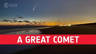 EUROPESE OMROEP OPENN From Comet NEOWISE to Comet Inter