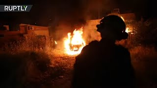 EUROPESE OMROEP | OPENN  | Car torched in East Jerusalem as clashes over Palestinian evictions continue