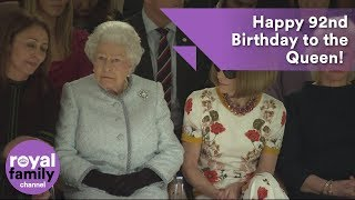 EUROPESE OMROEP | The Royal Family Channel | Happy 92nd Birthday to the Queen! A look back at the last year | 1524301467 2018-04-21T09:04:27+00:00
