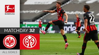 EUROPESE OMROEP | OPENN  | Outrageous Goal saves a point in race for CL | Frankfurt - Mainz | 1-1 | All Goals | MD 32 – 20/21