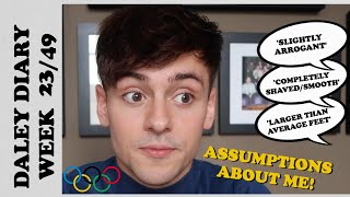 EUROPESE OMROEP | OPENN  | YOUR ASSUMPTIONS ABOUT ME! | DALEY DIARIES WEEK 23/49 I Tom Daley