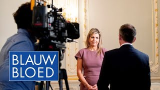 EUROPESE OMROEP OPENN Interview: Máxima over thuiswerk