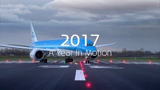 EUROPESE OMROEP | KLM Royal Dutch Airlines | KLM 2017 A Year In Motion | 1513343854 2017-12-15T13:17:34+00:00