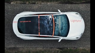 EUROPESE OMROEP | OPENN  | Lightyear Research Vehicle — Tesla Model 3 with solar roof