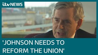 EUROPESE OMROEP | OPENN  | Gordon Brown to PM: 'Stop parading Union Jack around Scotland, reform the union instead' | ITV News