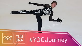EUROPESE OMROEP | Youth Olympic Games | Meet Stephane Lambiel's protege Deniss Vasiljevs #YOGjourney | 1513274403 2017-12-14T18:00:03+00:00