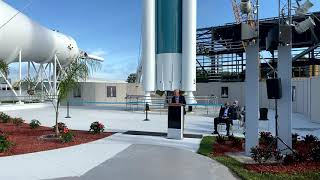 EUROPESE OMROEP | OPENN  | United Launch Alliance Delta II Rocket Honored at Grand Opening Ceremony
