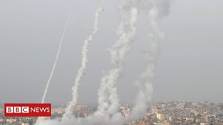 EUROPESE OMROEP | OPENN  | Jerusalem violence: Deadly air strikes hit Gaza after rocket attacks - BBC News
