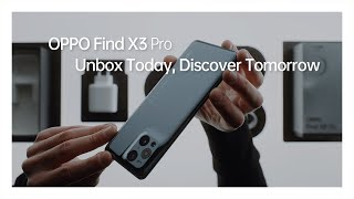 EUROPESE OMROEP | OPENN  | OPPO Find X3 Pro | Unbox and Explore