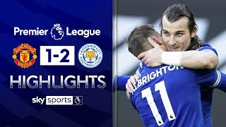 EUROPESE OMROEP | OPENN  | Leicester beat Man United to hand Man City the PL title🏆 | Man United 1-2 Leicester | EPL Highlights