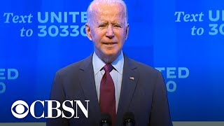 EUROPESE OMROEP OPENN Biden says Trump trying to overtu