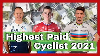 EUROPESE OMROEP OPENN Top 20 Highest Salaries in Pro Cycling