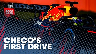 EUROPESE OMROEP | OPENN  | Sergio Perez's First Drive With Red Bull Racing