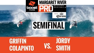 EUROPESE OMROEP | OPENN  | Griffin Colapinto vs. Jordy Smith SEMIFINAL HEAT REPLAY Boost Mobile Margaret River Pro