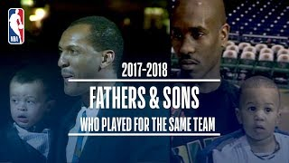EUROPESE OMROEP | NBA | Father and Sons Who Played For The Same Team (Gary Payton Sr. & II, Larry Sr. & Jr. Plus More!) | 1524333603 2018-04-21T18:00:03+00:00