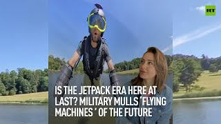 EUROPESE OMROEP | OPENN  | Is the jetpack era here at last? Military mulls 'flying machines' of the future