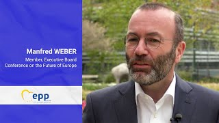 "EUROPESE OMROEP | OPENN  | Manfred Weber – ""The basic principle of the EU is democracy"""