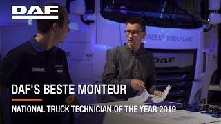 EUROPESE OMROEP | OPENN  | DAF Technician of the Year