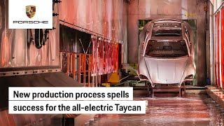 EUROPESE OMROEP   OPENN    Innovation Sparks Improved Production for the Taycan
