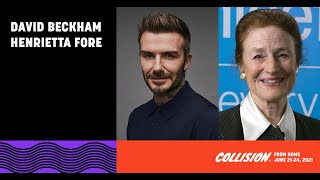 EUROPESE OMROEP | OPENN  | David Beckham and Henrietta Fore on vaccines and mental health | UNICEF