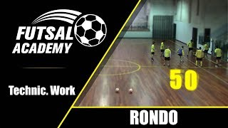 EUROPESE OMROEP | OPENN  | Fun warm up rondo - rondo#10 - team pass competition