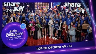 EUROPESE OMROEP OPENN TOP 50: Most watched in 2019: 40