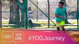 EUROPESE OMROEP | Youth Olympic Games | Sebastian Baez [ARG] - The next Juan Martin del Potro? #YOGjourney | 1516298406 2018-01-18T18:00:06+00:00