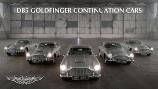 EUROPESE OMROEP | OPENN  | The first five Aston Martin DB5 Goldfinger Continuation cars