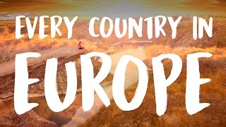 EUROPESE OMROEP OPENN 45 Countries of Europe in 215 Seconds