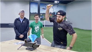 EUROPESE OMROEP | Dude Perfect | Crush a Diamond with a Hammer? | Dude Perfect | 1515452386 2018-01-08T22:59:46+00:00
