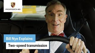 EUROPESE OMROEP   OPENN    Bill Nye Explains the All-Electric Taycan: Two-Speed Transmission