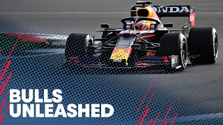 EUROPESE OMROEP | OPENN  | Max Verstappen and Sergio Perez drive the RB16B at Silverstone